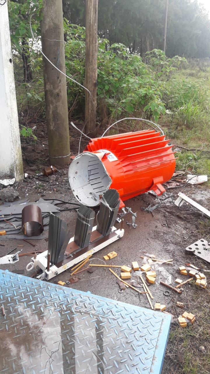 El Municipio informa sobre un nuevo acto de vandalismo y robo de trasformadores en bombas y pozos de agua