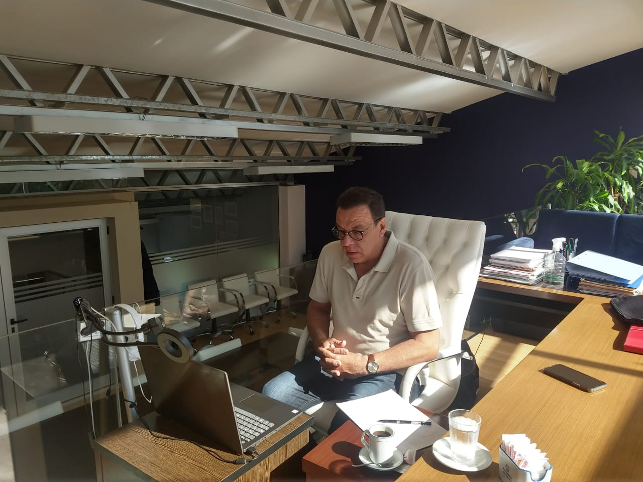 Situación Epidemiológica: Cáffaro participó de una nueva reunión virtual con el gobernador bonaerense Axel Kicillof e intendentes del AMBA