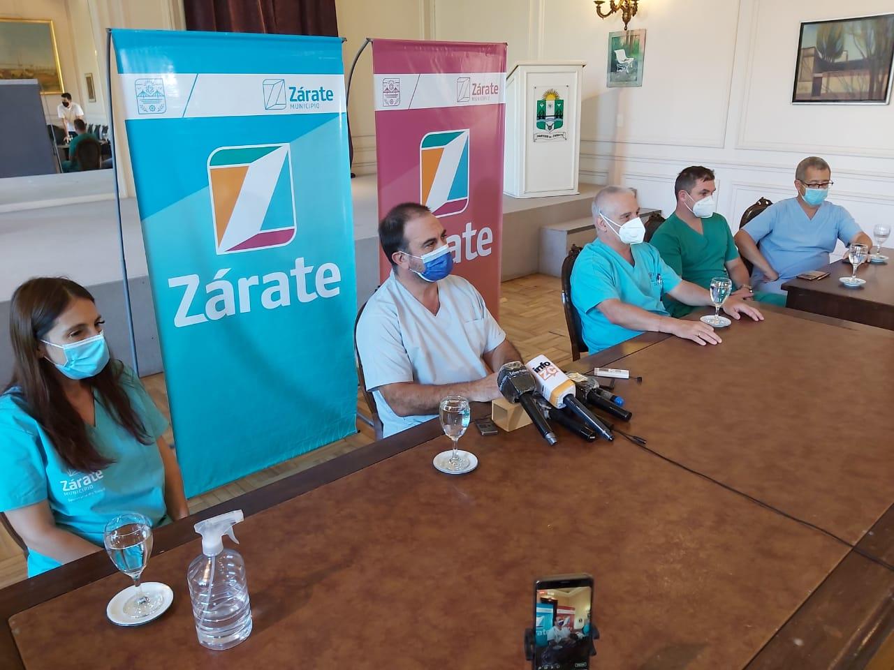 Profesionales Médicos que integran el Consejo Asesor de Salud brindaron su mensaje a la población