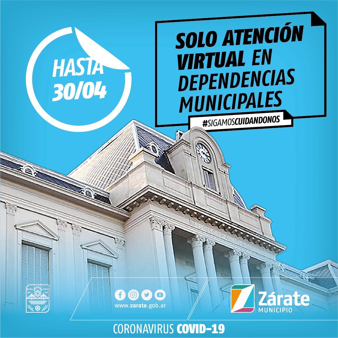 Dependencias municipales atenderán al público de manera virtual hasta el 30 de abril