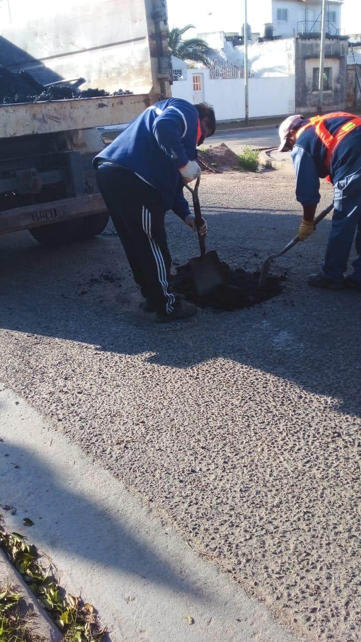 El Municipio continúa trabajando en el mejoramiento de calles