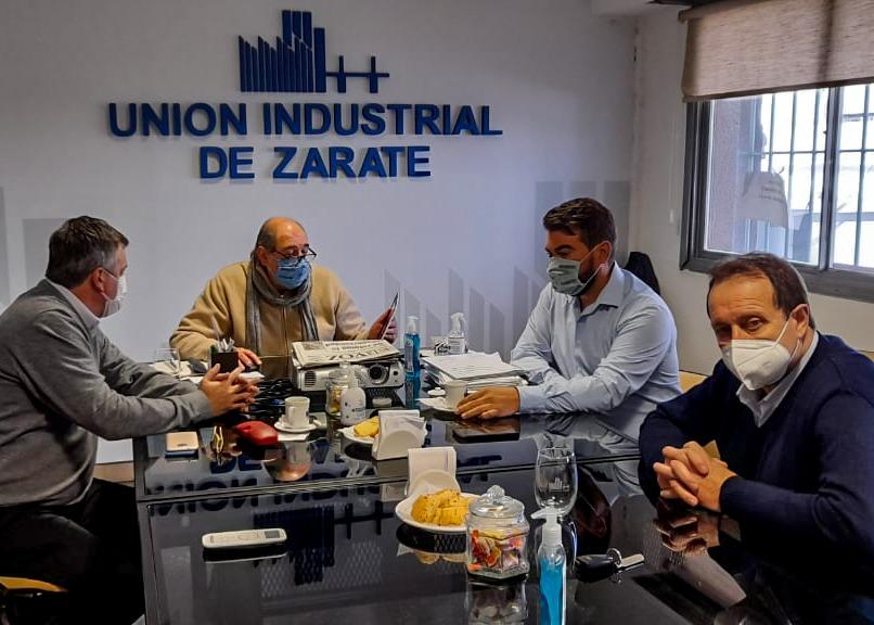 El Municipio se reunió con la Unión Industrial