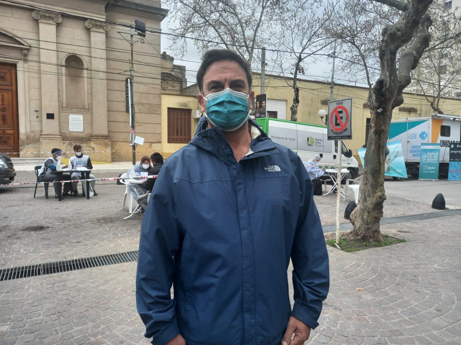 Nuevo operativo Detectar en Plaza Mitre