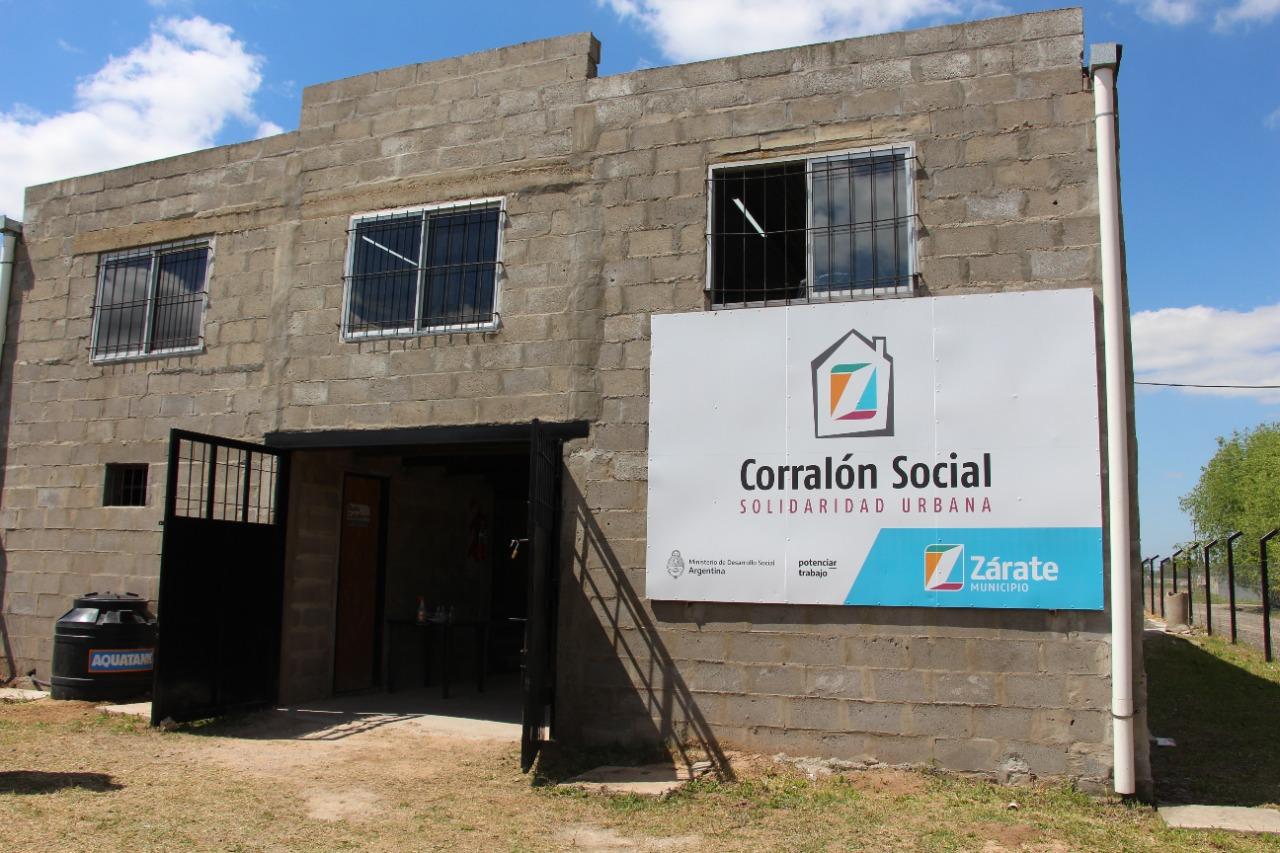Se inauguró el Corralón Municipal Social y de Autogestión de Vivienda