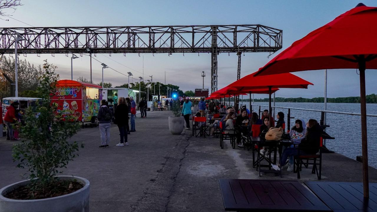 Se inauguró Punto Dock Ribera Norte