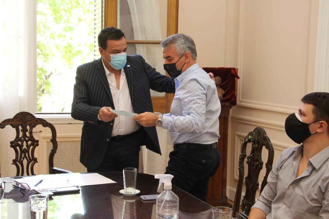 El Municipio otorgó incentivos a clubes de Zárate y Lima